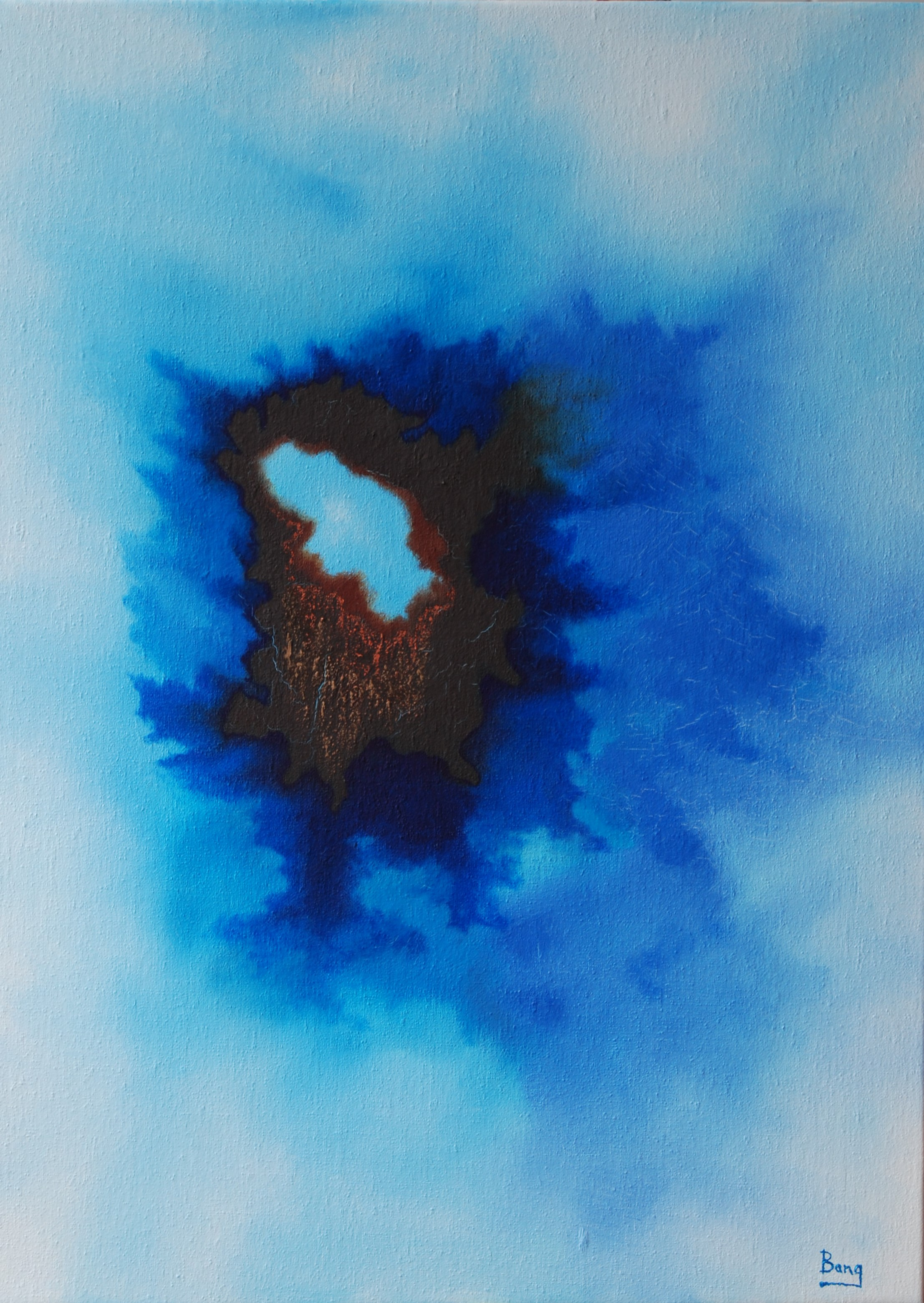 Hole In the Sky 73x53cm